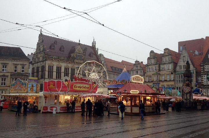 Kleiner Freimarkt am Marktplatz