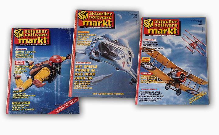 """ASM-Cover der """"goldenen Jahre"""", gezeichnet von Mark Bromley"""