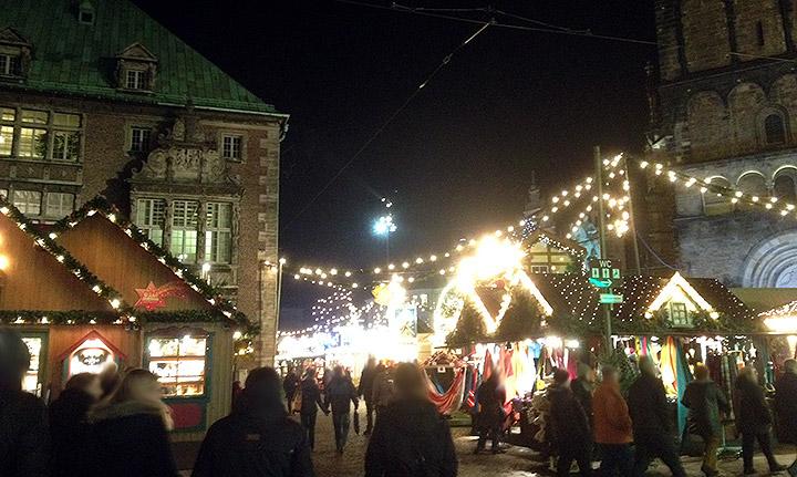 Weihnachtsmarkt Bremen 2014