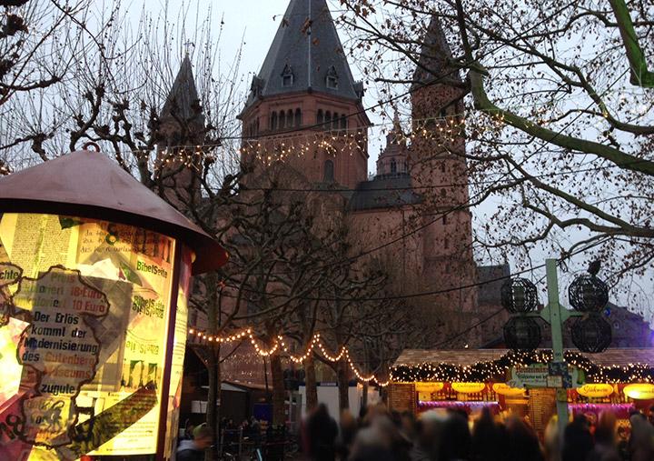 Weihnachtsmarkt Mainz 2014