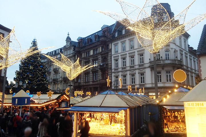 Weihnachtsmarkt Wiesbaden 2014