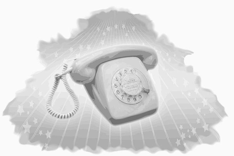 Der Telefonapparat für interpersonelle Kommunikation über Distanz