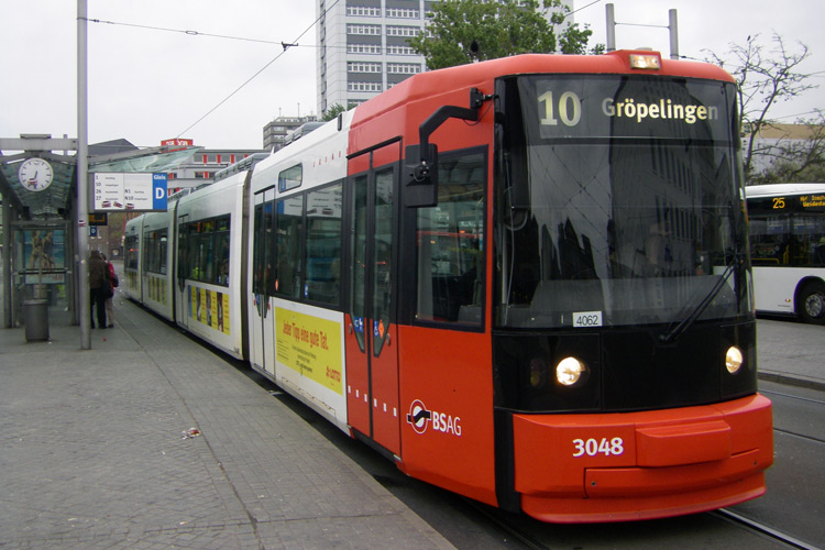 (2010) GT8N Hauptbahnhof, Quelle: Uwca@commons.wikimedia.org