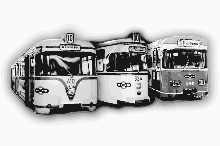 Bremer Straßenbahn damals