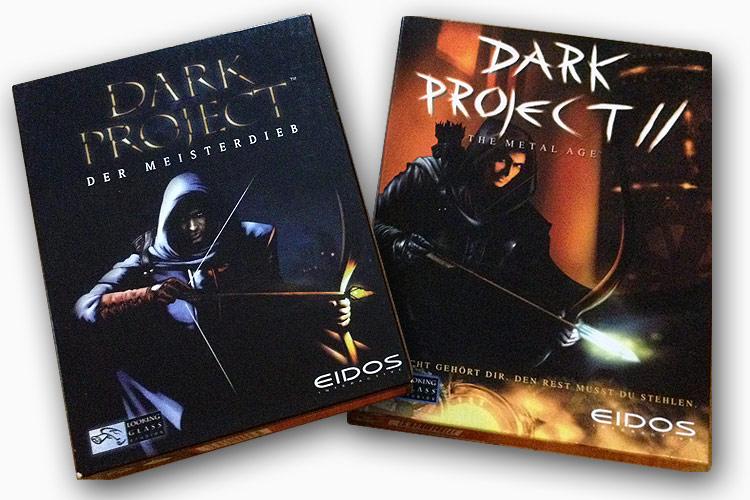 Dark Project - Ehrenplatz im Regal