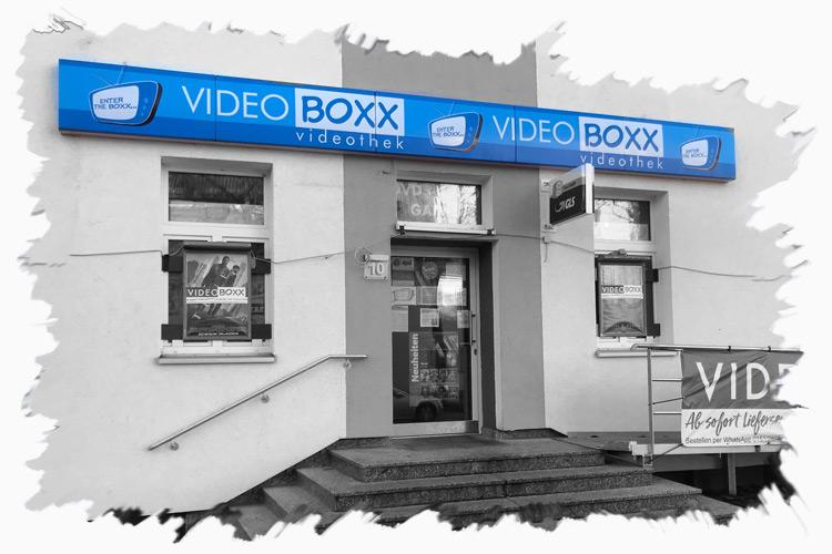 Video Boxx in Bremen-Findorff ist die einzige übrig gebliebene Videothek in Bremen (Stand : Dez. 2020)