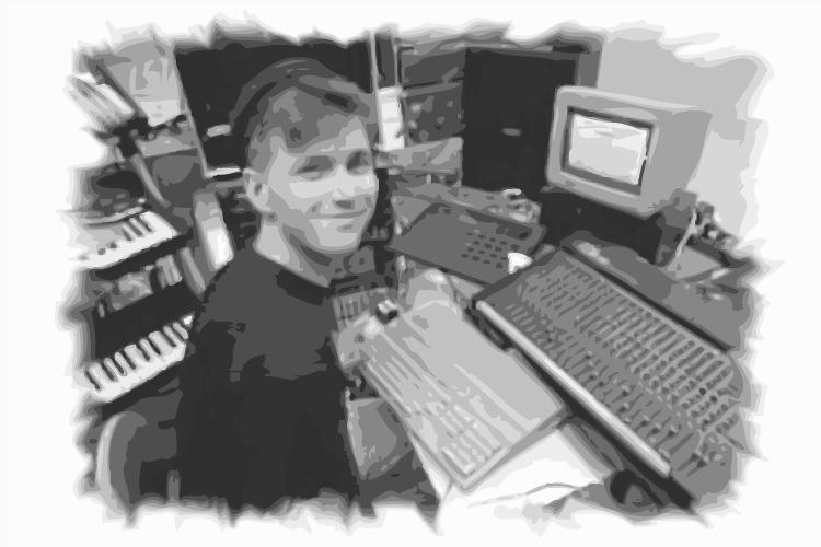 """Mijk van Dijk im Studio, """"Technocity Berlin"""" (Doku von 1993)"""