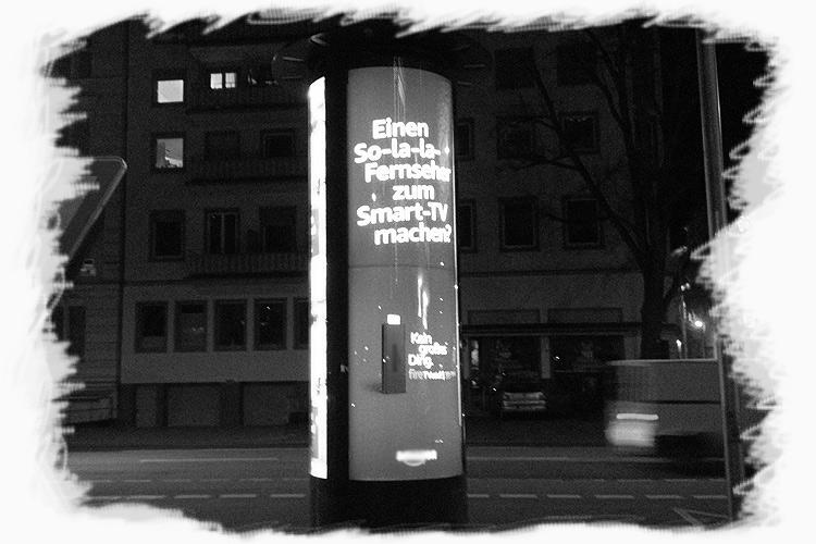 Neue Litfaßsäulen in Wiesbaden