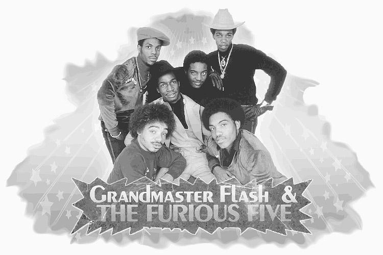 Sound der frühen Achtziger - Grandmaster Flash & the Furious Five
