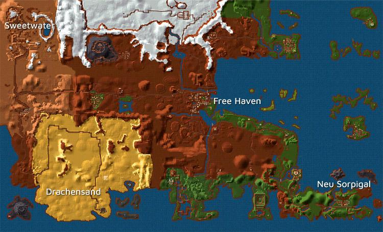 Die Welt von Enroth