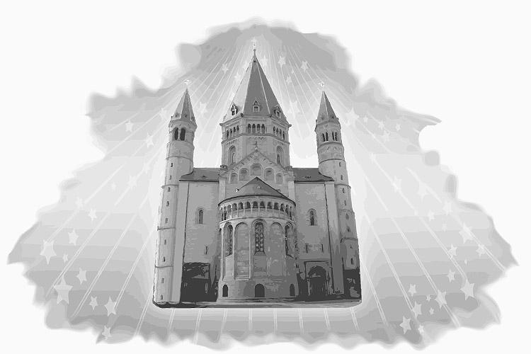 Faszination alte Kirche (Mainzer Dom)